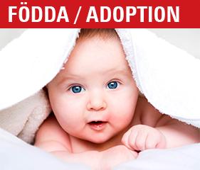 Annonsera födda/adoption